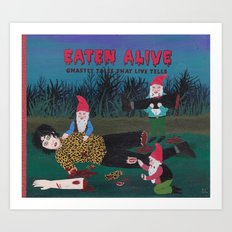 EATEN ALIVE Art Print