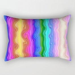 Waves of Colour Rectangular Pillow
