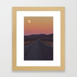 Full Moon Fever Framed Art Print