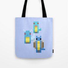 Blue Family Tote Bag