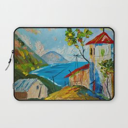 the village by the sea Laptop Sleeve