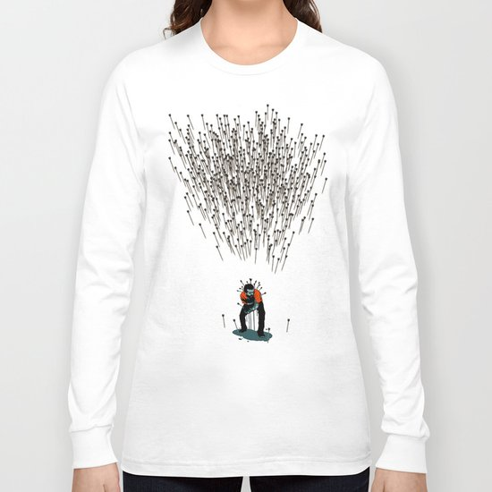 Stop Wasting Arrows And Aim For Its Head, You Damn Fools! V2 Long Sleeve T-shirt