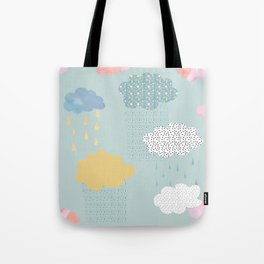 Cloud Shapes and Patterns. Tote Bag