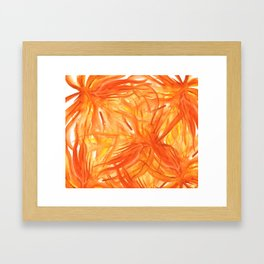 Palmeras Framed Art Print