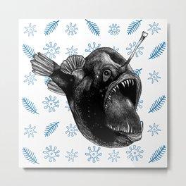 Ms Anglerfish Metal Print
