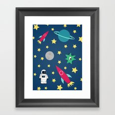 Space Objective Framed Art Print