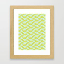 Nintendo .lime Framed Art Print