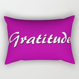 Gratitude Rectangular Pillow