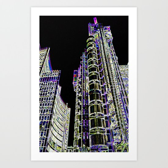 Willis Group and Lloyd's of London Art Print