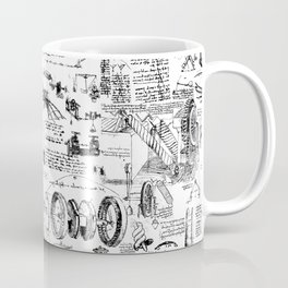 Da Vinci's Sketchbook Coffee Mug