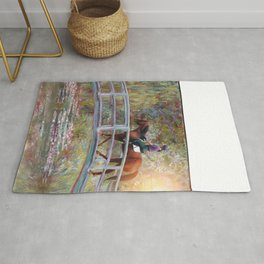 Riding with Monet Rug