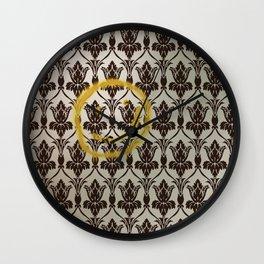 Sherlock Wallpaper Light Wall Clock