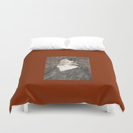 Alyssa in Wintery Faux Fur Duvet Cover