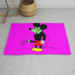 MAKES THE MOUSE CUM. Rug