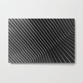 subtle lines Metal Print