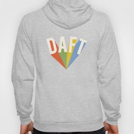 Letters : Daft II Hoody