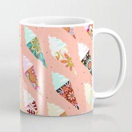 Mandala ice cream   misty rose Coffee Mug