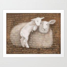 Sheep 1 Art Print