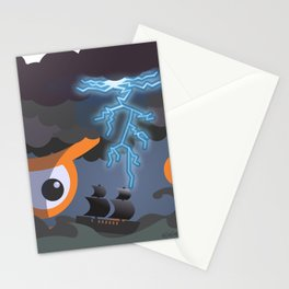 tempest at sight Stationery Cards