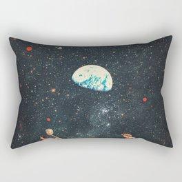 I'm Not going Anywhere Rectangular Pillow