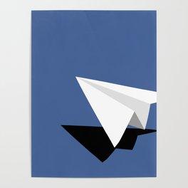 Paper Plane Poster