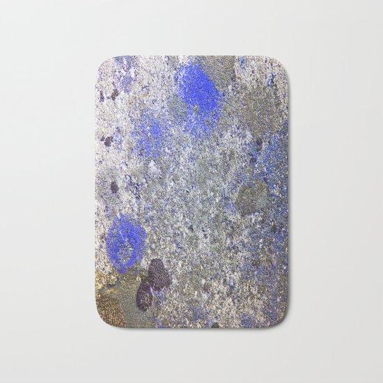Blue Moss Bath Mat