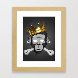 The Voodoo King Framed Art Print