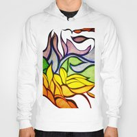 waves Hoodies featuring Waves by Aaron Carberry