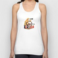 captain silva Tank Tops featuring Captain by Design4u Studio