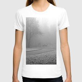 Whitetail Deer in the Fog T-shirt