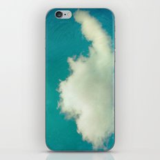 Genie in a Bottle.  Cloud Photography.  Turquoise iPhone & iPod Skin