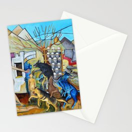 The Dogs of Juarez Los Perros de Juarez by Juan Manuel Rocha Kinkin Stationery Cards
