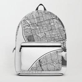 Toronto Map Universe Backpack