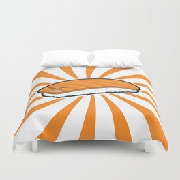 Angry Sushi Duvet Cover