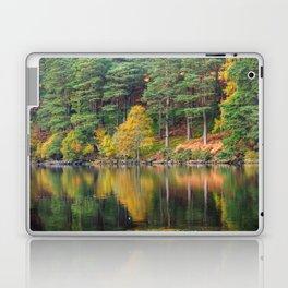 Autumn lake view (RR 174) Laptop & iPad Skin