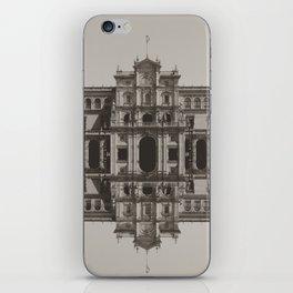 Digital mirror plaza iPhone Skin