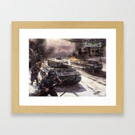 Glory of Generals poster Framed Art Print