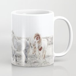 WILD AND FREE  1 - HORSES OF ICELAND Coffee Mug