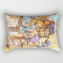miss africa Rectangular Pillow