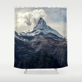 Crushing Clouds Shower Curtain