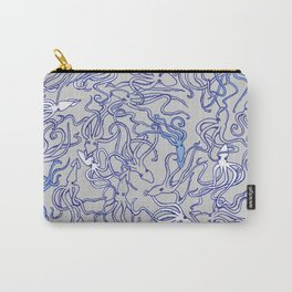 Squids of the inky ocean Carry-All Pouch