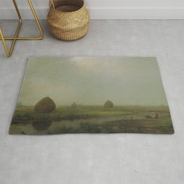 Jersey Marshes 1874 By Martin Johnson Heade | Reproduction Rug
