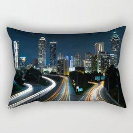 Atlanta Lights Rectangular Pillow