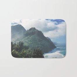 Na Pali Coast Kauai Hawaii Bath Mat
