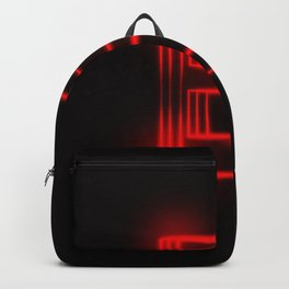 Red Neon B Backpack