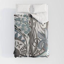 Hawaiian - Samoan - Polynesian Tribal Threads Duvet Cover