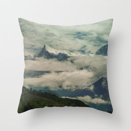 The Call of the Mountain 001 Throw Pillow