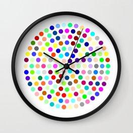 Robert Hirst Spot Clock Wall Clock