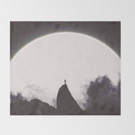 Abaddon Black & White Throw Blanket
