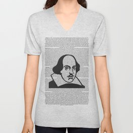 Words of Shakespeare Unisex V-Neck